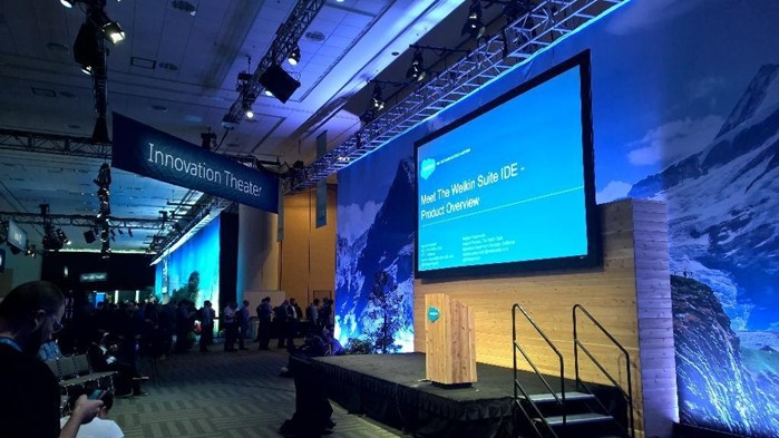 Preparing for TWS presentation at Dreamforce