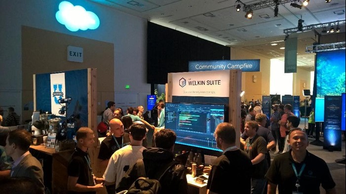The Welkin Suite Dreamforce Experience 2015