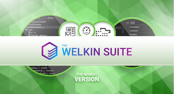 The new version of The Welkin Suite IDE is now released