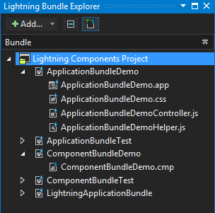 Lightning Bundle Explorer in TWS