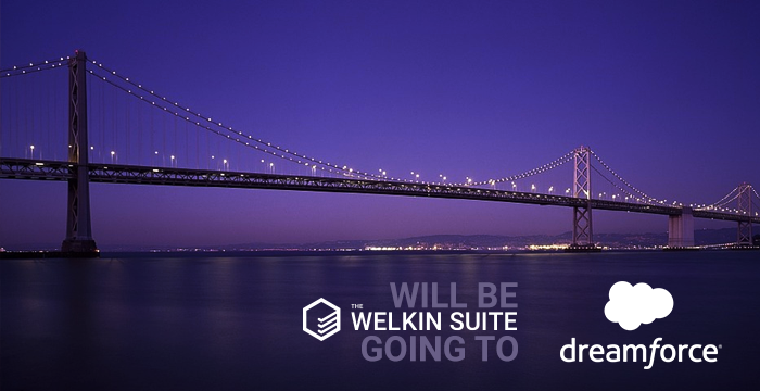 The Welkin Suite is Going to Dreamforce