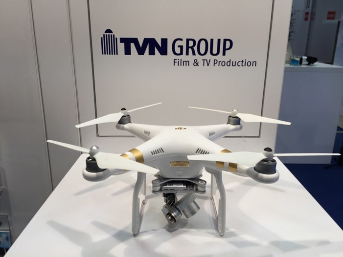 Drone shown at CeBIT