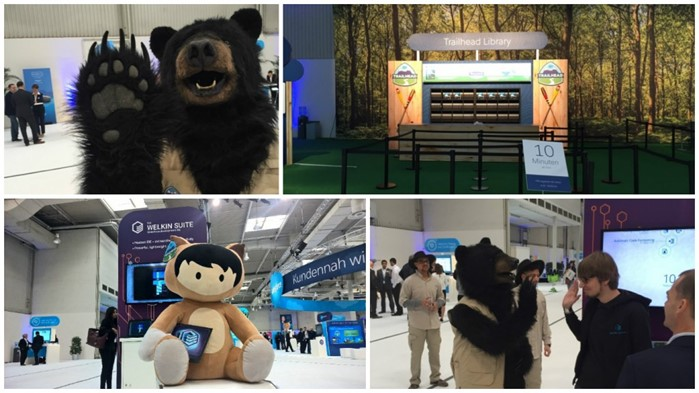Trailhead with Welkin at CeBIT