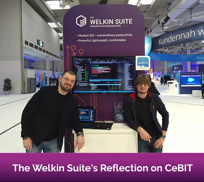 The Welkin Suite team's reflection on CeBIT