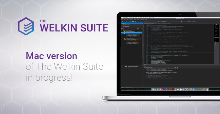Mac version of The Welkin Suite in progress