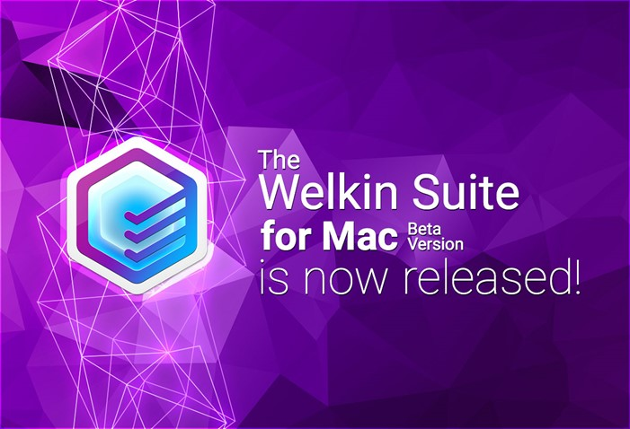 Release of Beta version of The Welkin Suite for Mac