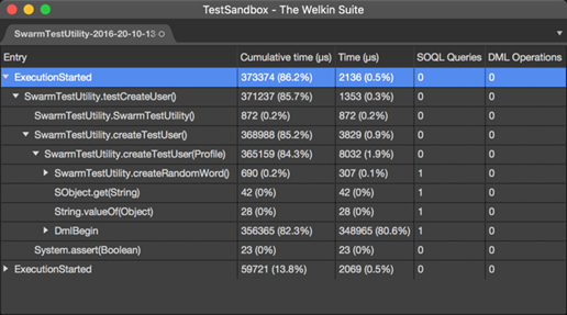 The Apex Profiler in TWS for Mac