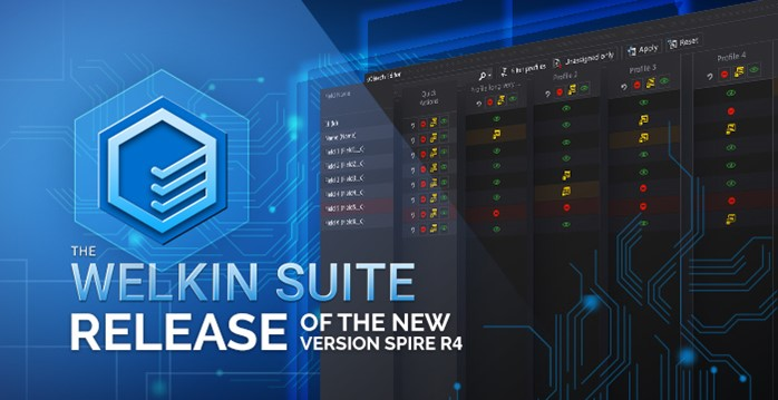 The Welkin Suite Spire R4 with sObject Editor