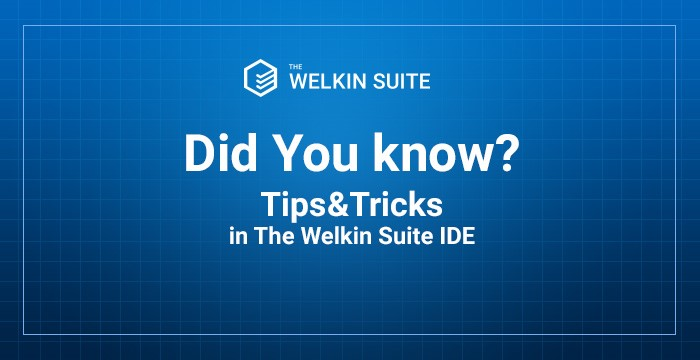 Tips and trick in The Welkin Suite