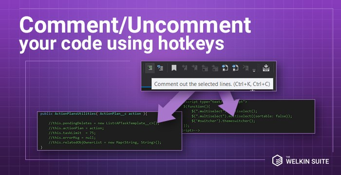 Comment and uncomment your Apex, Visualforce and other in the IDE