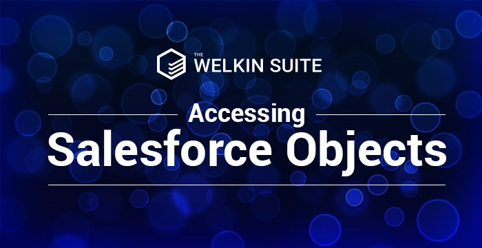 Accessing salesforce objects banner
