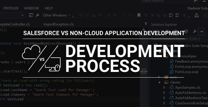 .Net to Salesforce development process