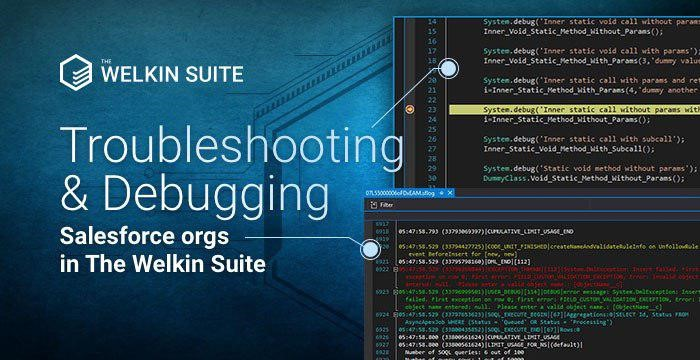 Use powerful IDE for your Salesforce org troubleshooting