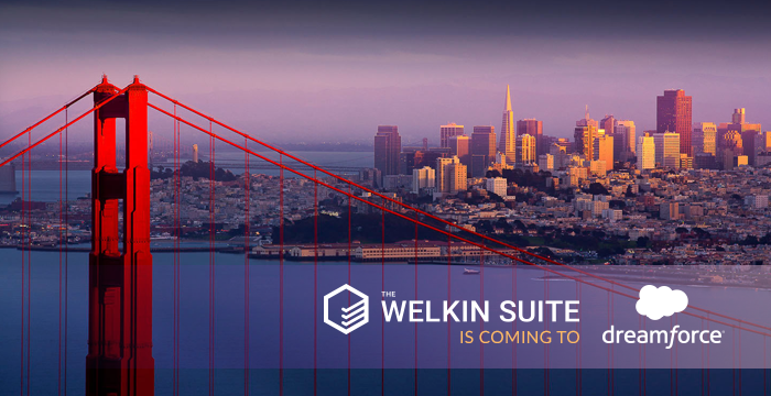 The Welkin Suite is coming to Dreamforce 17