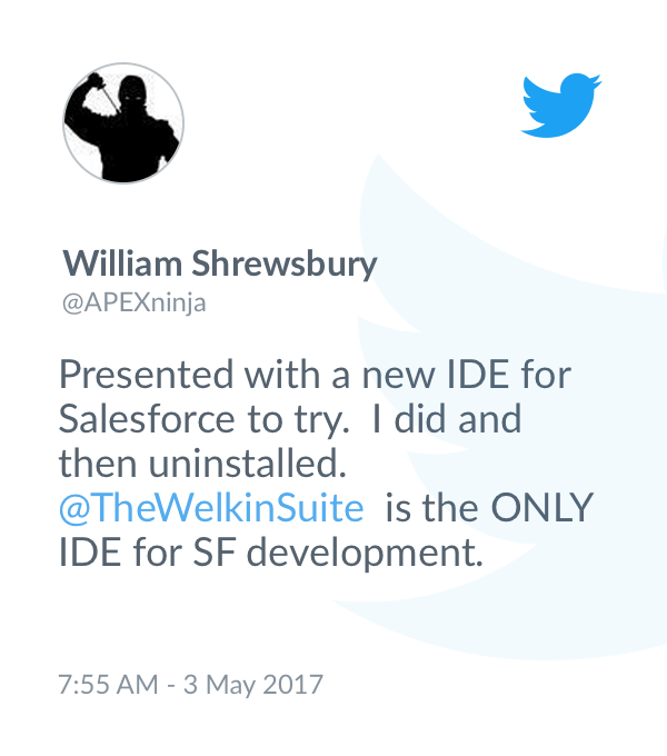 The Welkin Suite IDE for Force com | The Welkin Suite