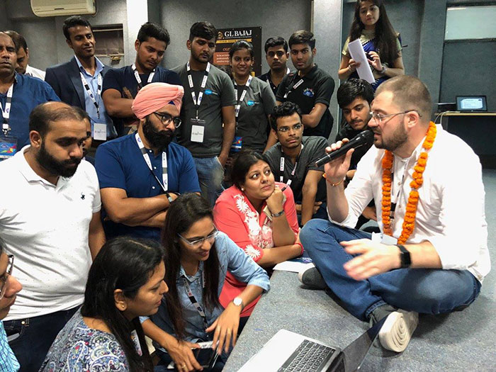 The Welkin Suite demo on IndiaDreamin'17