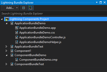 Lightning Bundle Explorer
