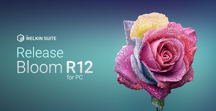 The Welkin Suite Bloom R12 with the implemented support for managed packages
