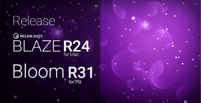 New release of The Welkin Suite IDE Bloom R31 and Blaze R24 with a set of fixes and improvements