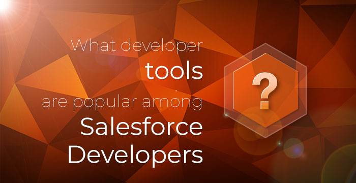 What developer tools are popular among Salesforce Developers?